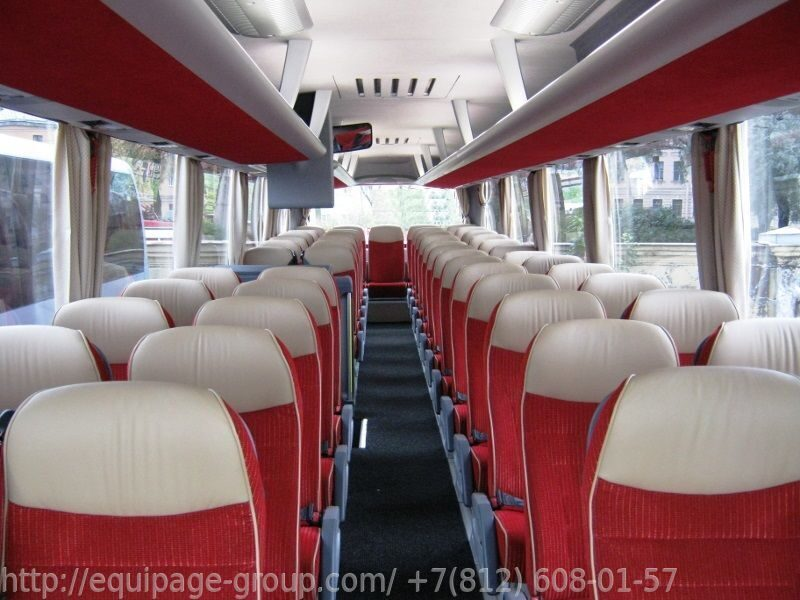 Автобус MAN Lion`s Coach R07 салон