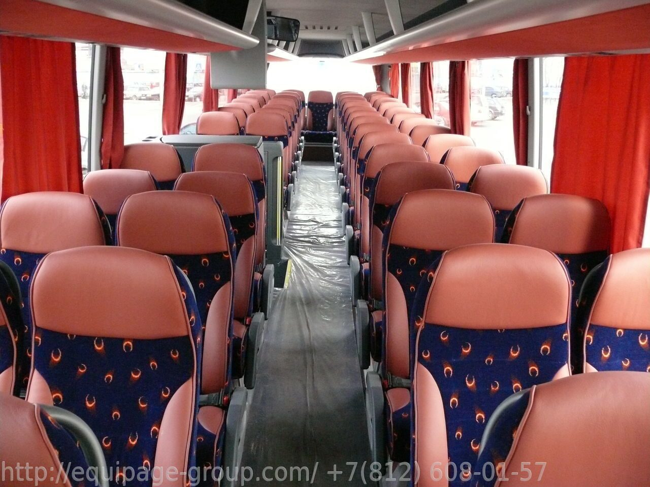 Автобус MAN Lion`s Coach R08 салон